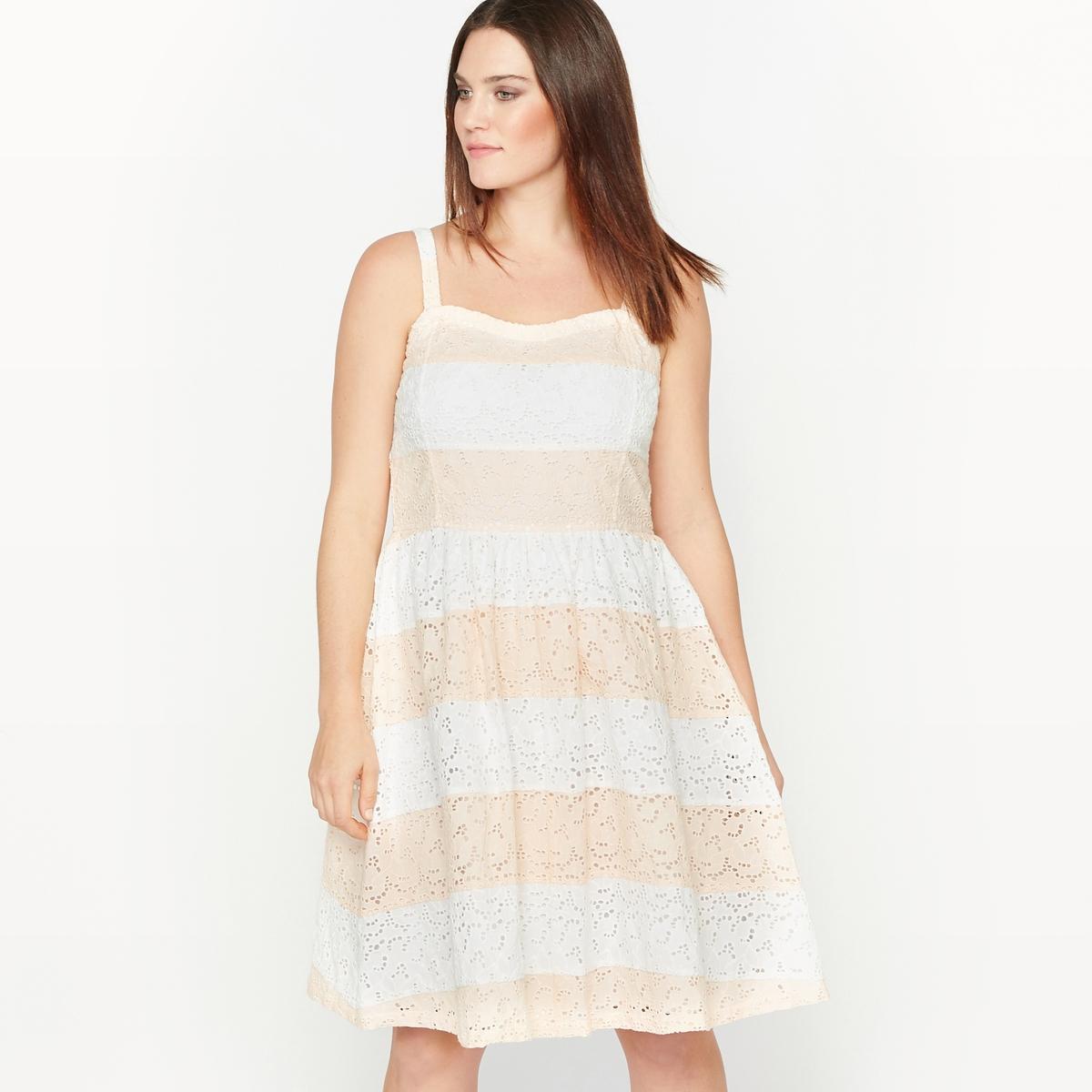 Платье-бюстье расклешенное