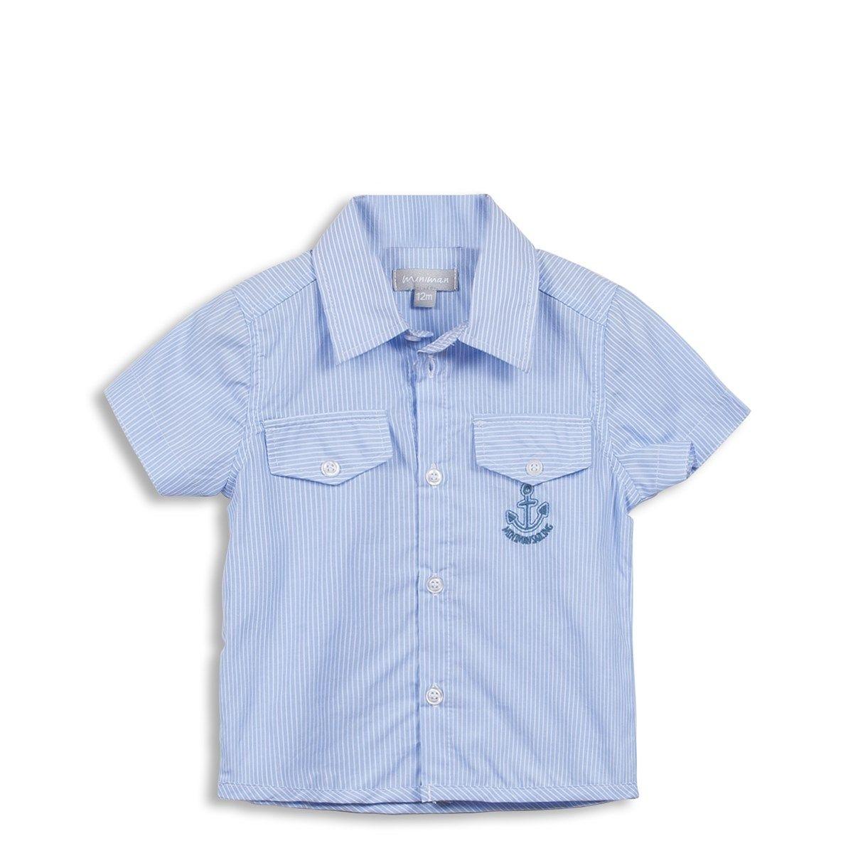 Chemise Rayée  avec Poches