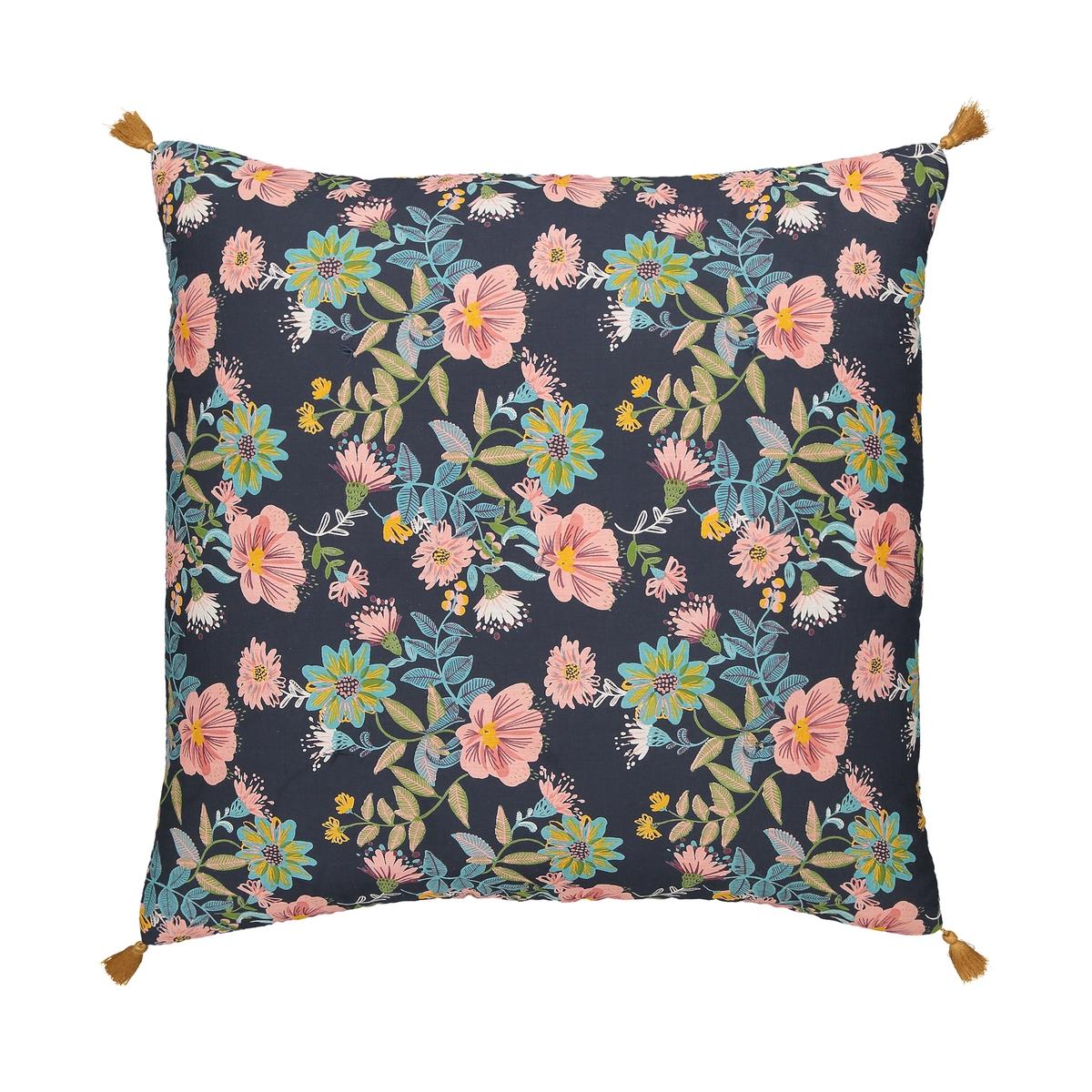 Чехол La Redoute На подушку с рисунком 65 x 65 см другие чехол la redoute для подушки или наволочка однотонного цвета с помпонами riad 65 x 65 см розовый