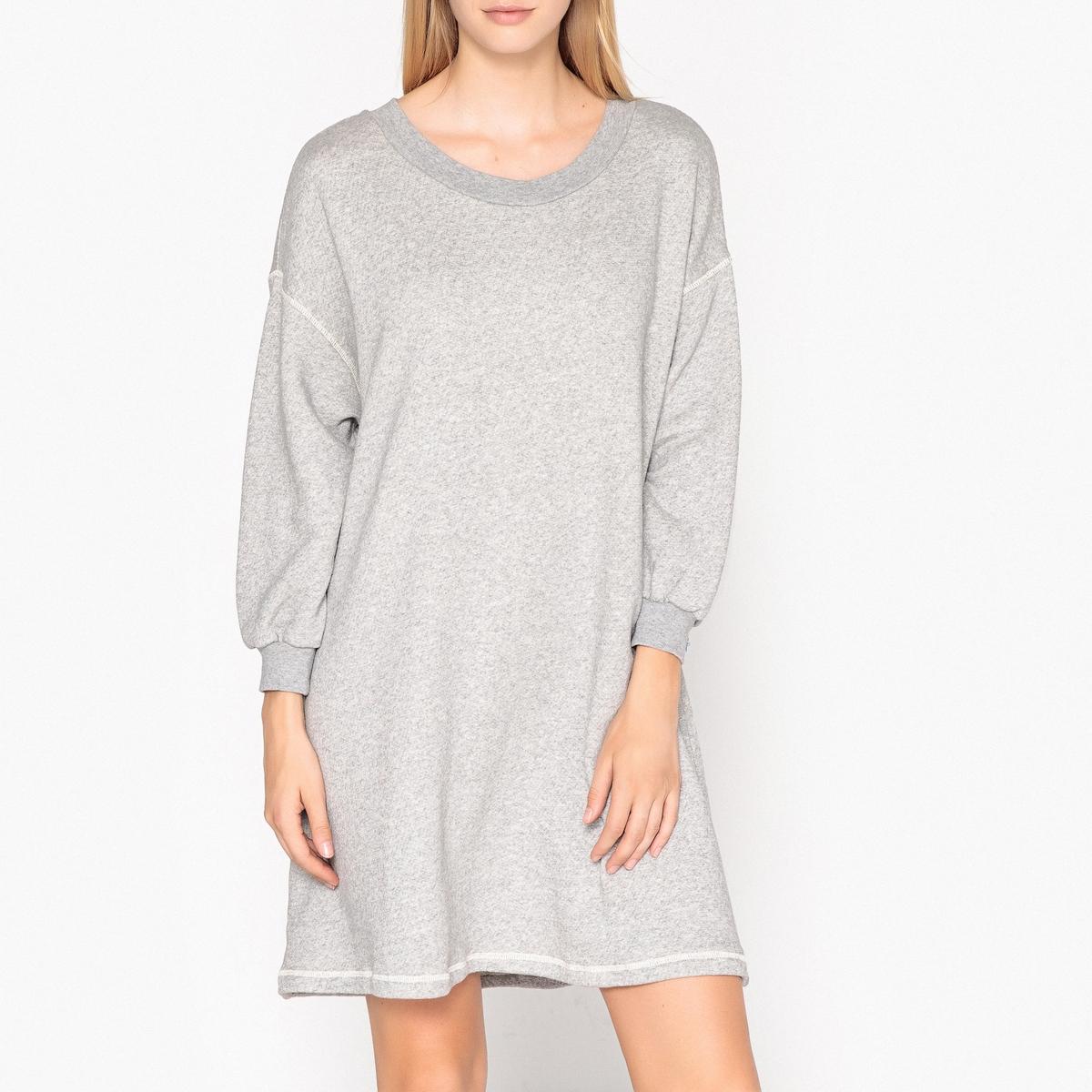 Платье-пуловер миди с длинными рукавами LOKOBRIDGE пуловер lueur