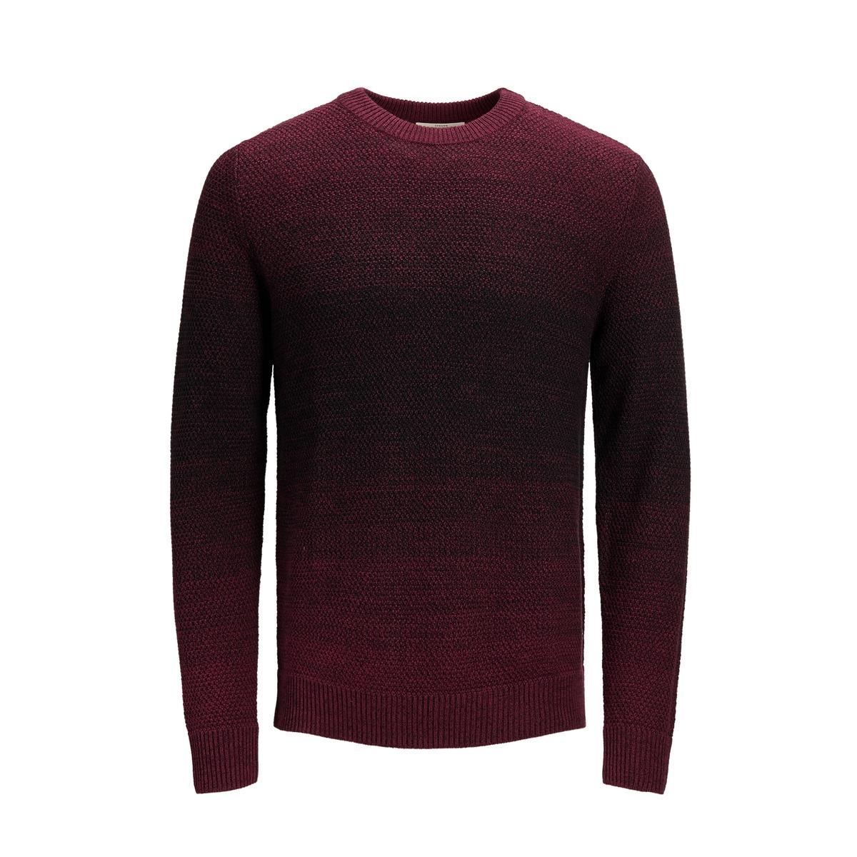 Пуловер La Redoute С круглым вырезом из тонкого трикотажа L красный пуловер la redoute с круглым вырезом из тонкого трикотажа l красный