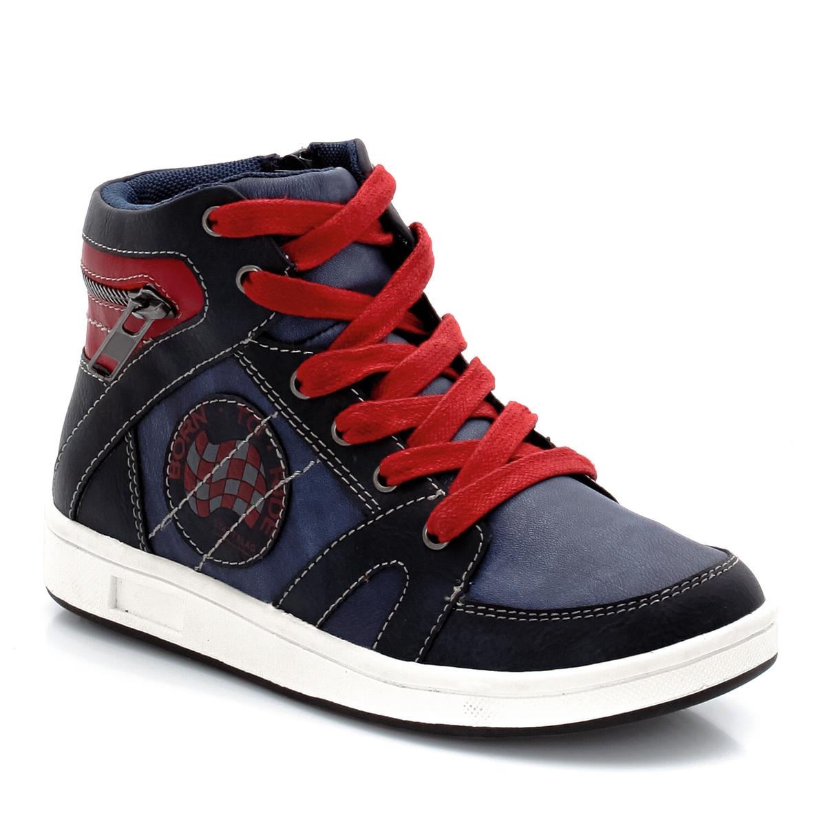 zapatillas Zapatillas deportivas de ca?a alta con cordones