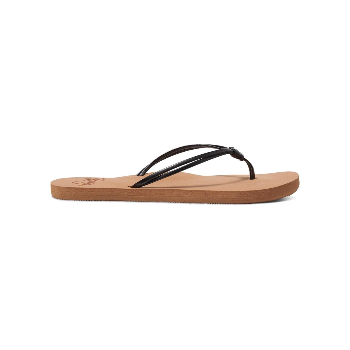 Вьетнамки LahainaВерх : синтетика   Подошва : каучук   Форма каблука : плоский каблук   Мысок : открытый мысок   Застежка : без застежки<br><br>Цвет: черный<br>Размер: 37