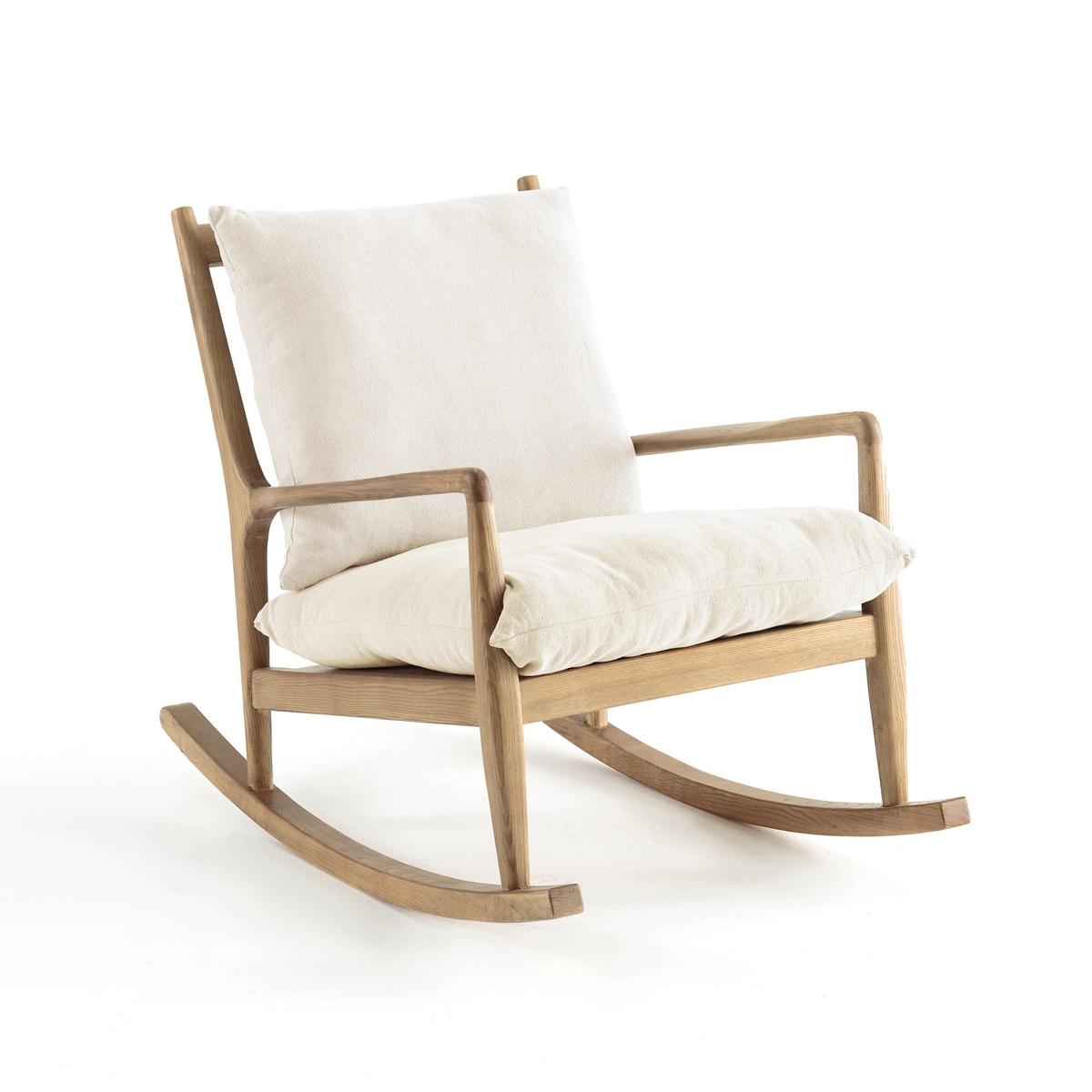 Кресло-качалка из льна, Dilma