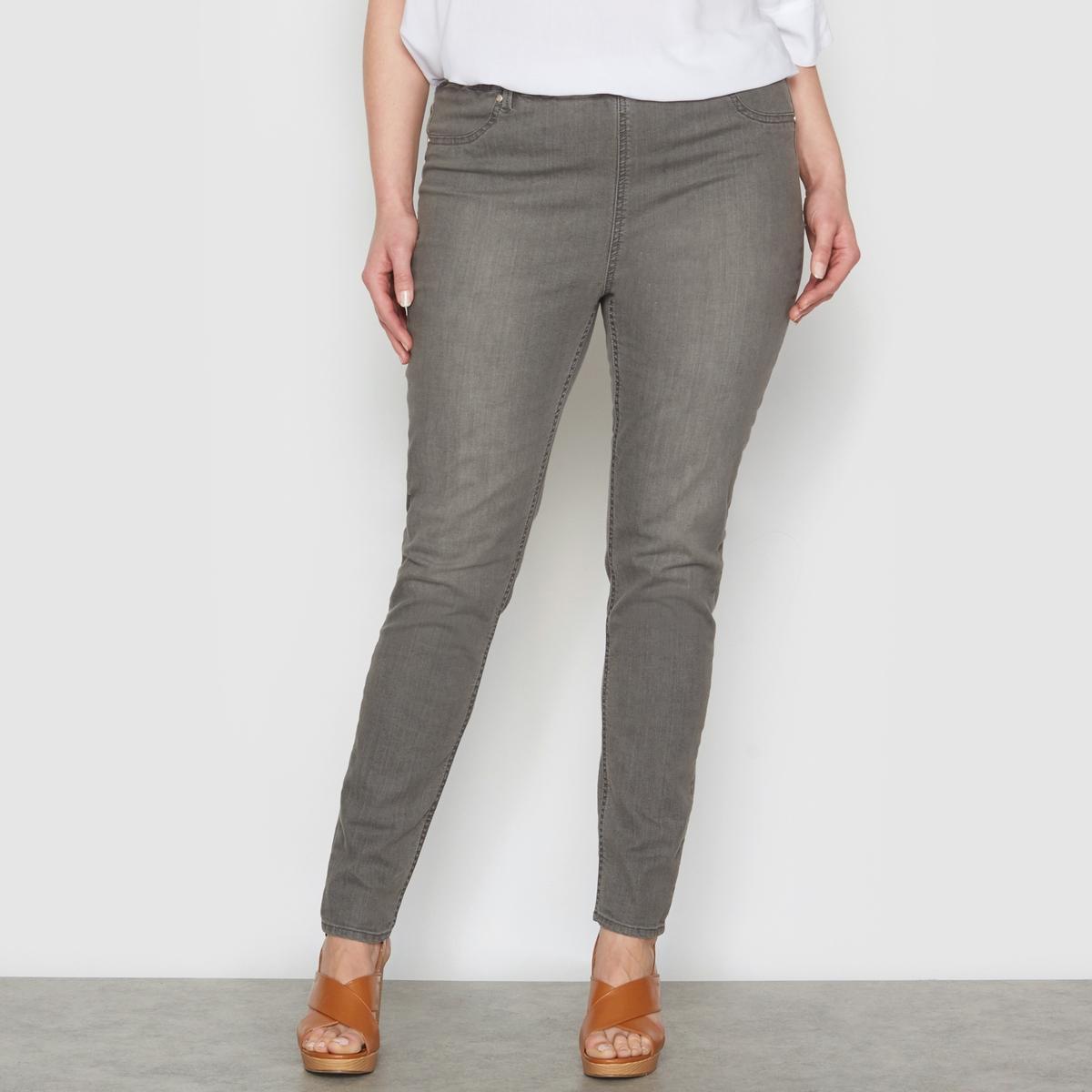Джеггинсы из денимаДжеггинсы из денима. Незаменимая вещь в любом гардеробе ! Невероятно удобные в носке благодаря эластичному поясу. Ложные карманы спереди и накладные карманы сзади. 98% хлопка, 2% эластана. Длина по внутр.шву 78 см, ширина по низу 14 см.<br><br>Цвет: серый потертый деним<br>Размер: 56 (FR) - 62 (RUS).52 (FR) - 58 (RUS).48 (FR) - 54 (RUS).58 (FR) - 64 (RUS).42 (FR) - 48 (RUS).50 (FR) - 56 (RUS).62 (FR) - 68 (RUS)