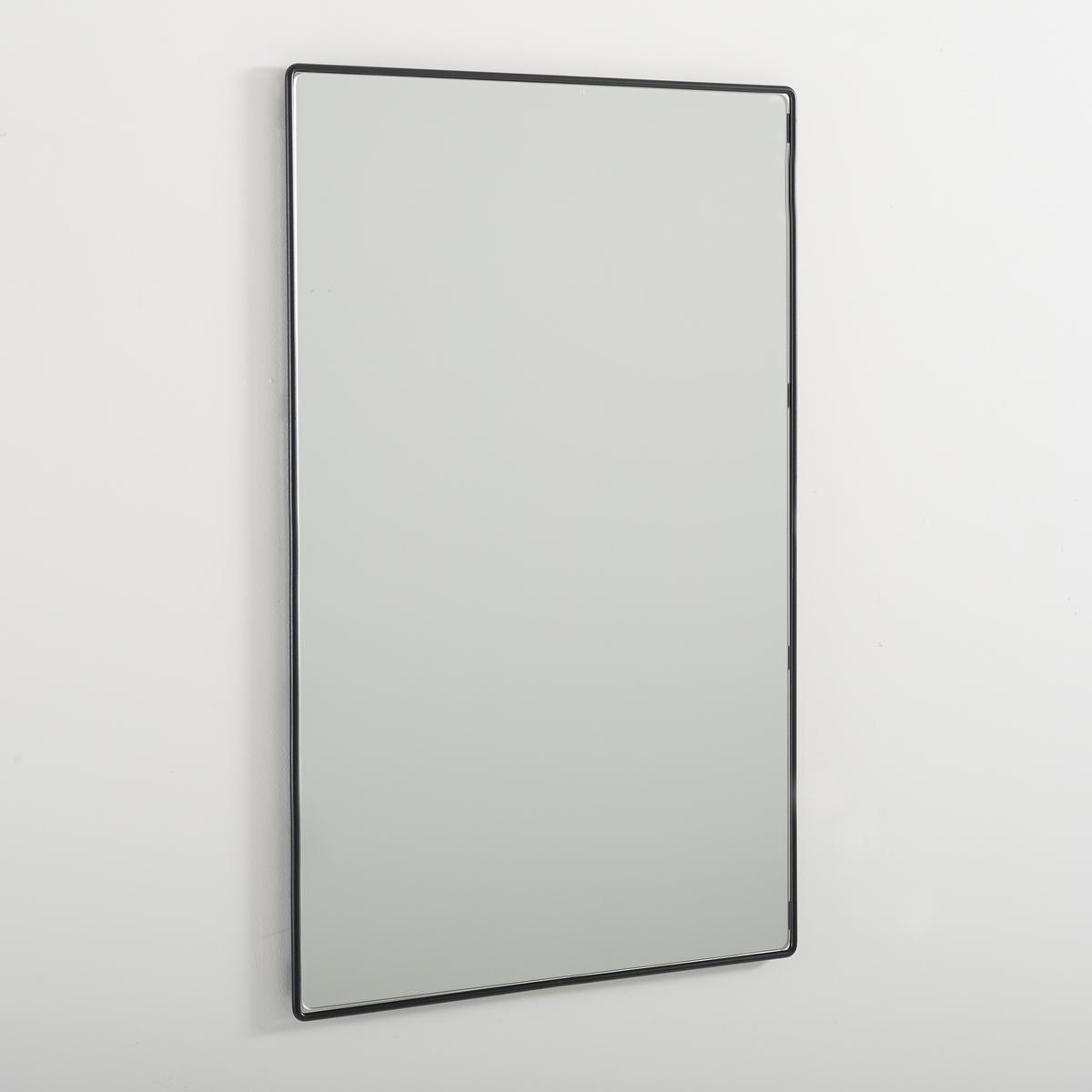 Зеркало BertilieОписание зеркала Bertilie:Зеркало прямоугольной формы.Характеристики зеркала Bertilie:Каркас из проволочного металла, отделка эпоксидной краской черного или белого цвета.Другие оригинальные предметы декора - на laredoute.ru.Размеры зеркала Bertilie:Ш.60 x В.90 x Г.1,6 см, 8,32 кг.Размер и вес с упаковкой:1 упаковка.Ш.67,5 x В.100 x Г.7 см, 10,22 кг.<br><br>Цвет: черный