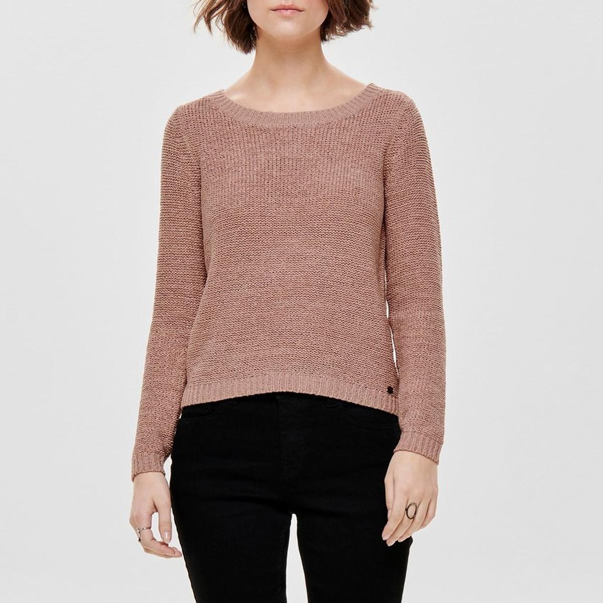 Пуловер с вырезом-лодочкой из тонкого трикотажа ONLY