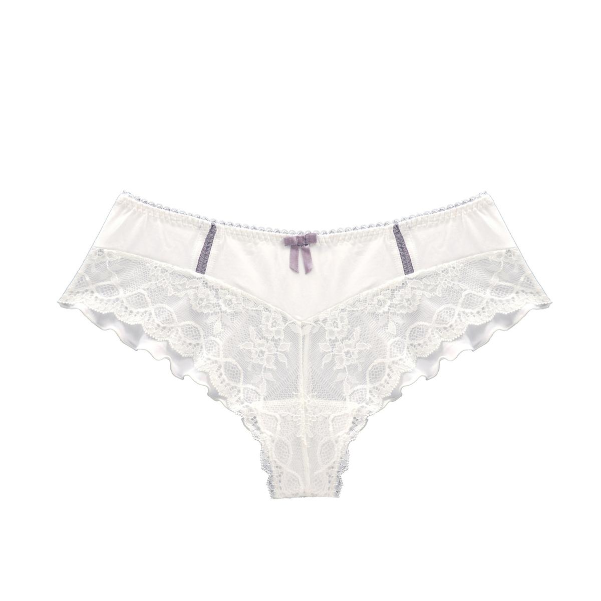 цена Трусы-шорты La Redoute Для периода беременности Lisa XL белый онлайн в 2017 году