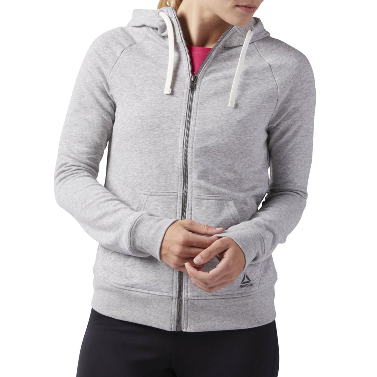 Imagen principal de producto de Sudadera con capucha y logotipo en el bolsillo - Reebok
