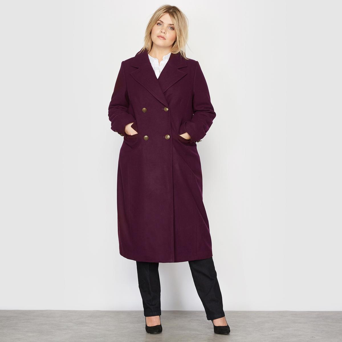 Пальто-шинель из шерстяного драпа пальто шинель из шерстяного драпа