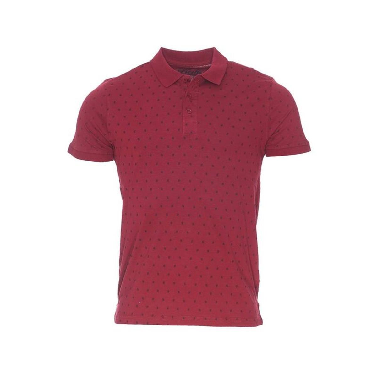 Polo The Fresh Brand en coton  à motif dièse