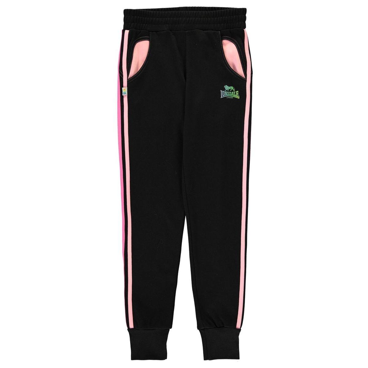 Pantalon de jogging en jersey chevilles ouvertes