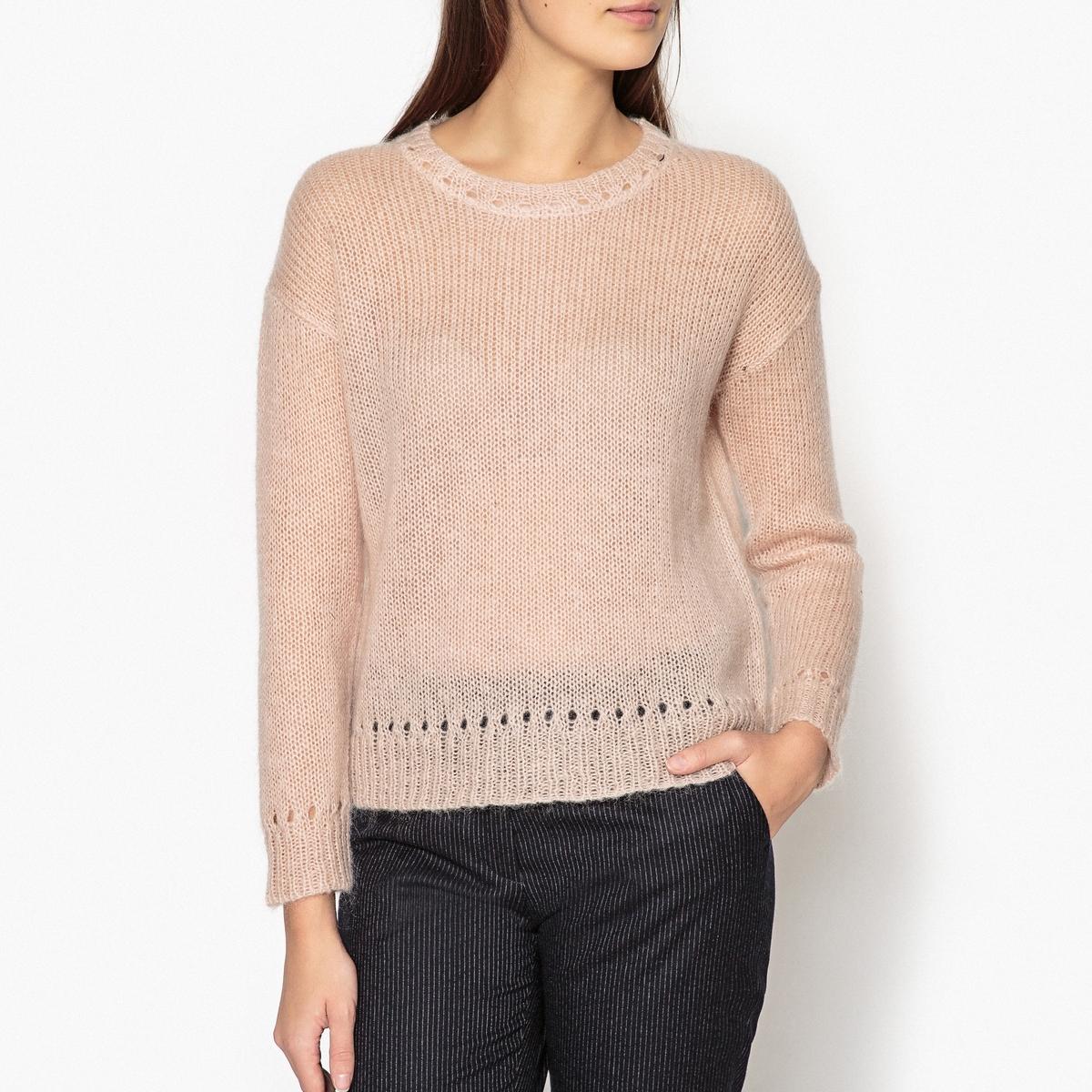 Пуловер из шерсти и мохера MANISH