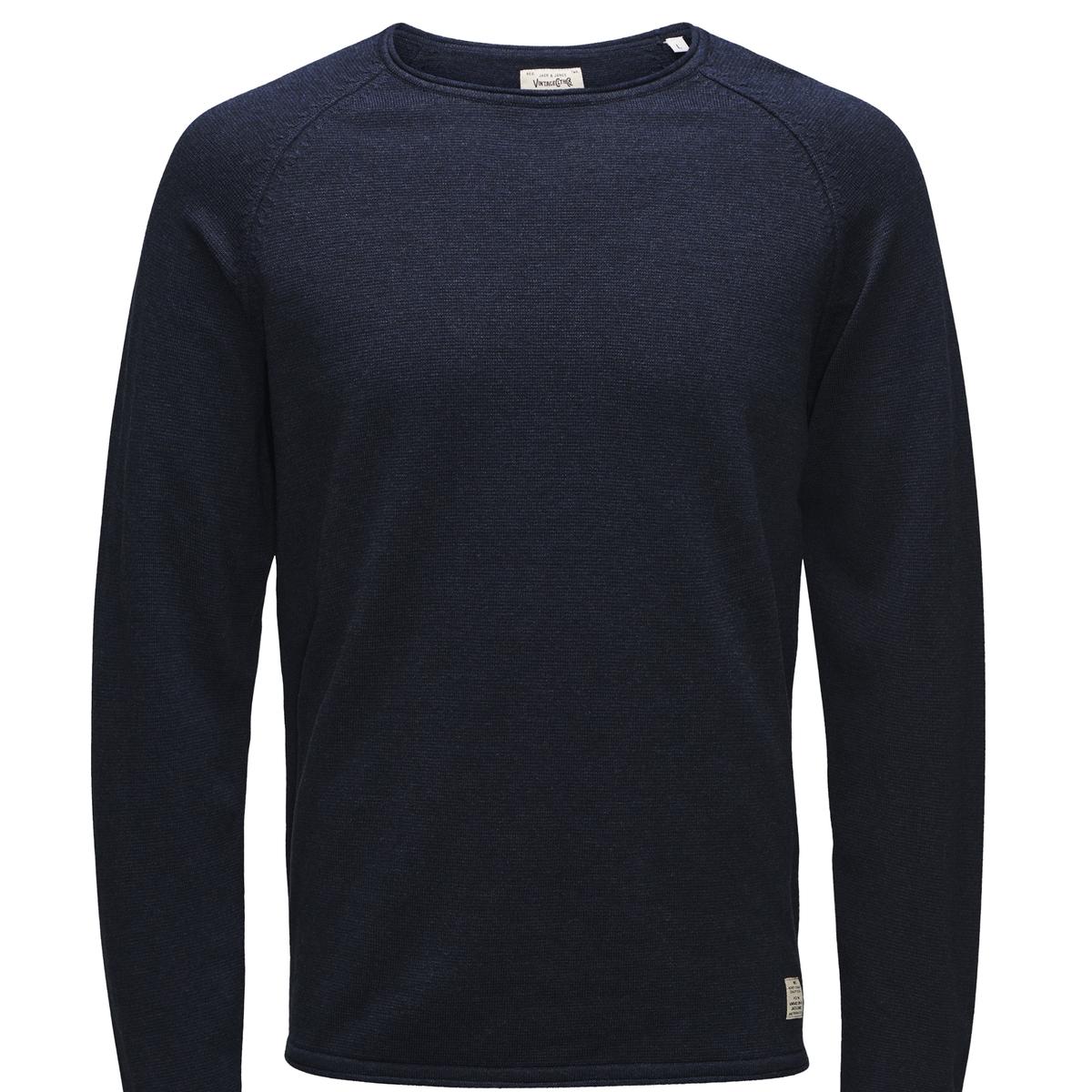 Пуловер UnionСостав и описание :Материал : 100% хлопкаМарка : JACK &amp; JONES VINTAGE<br><br>Цвет: темно-синий