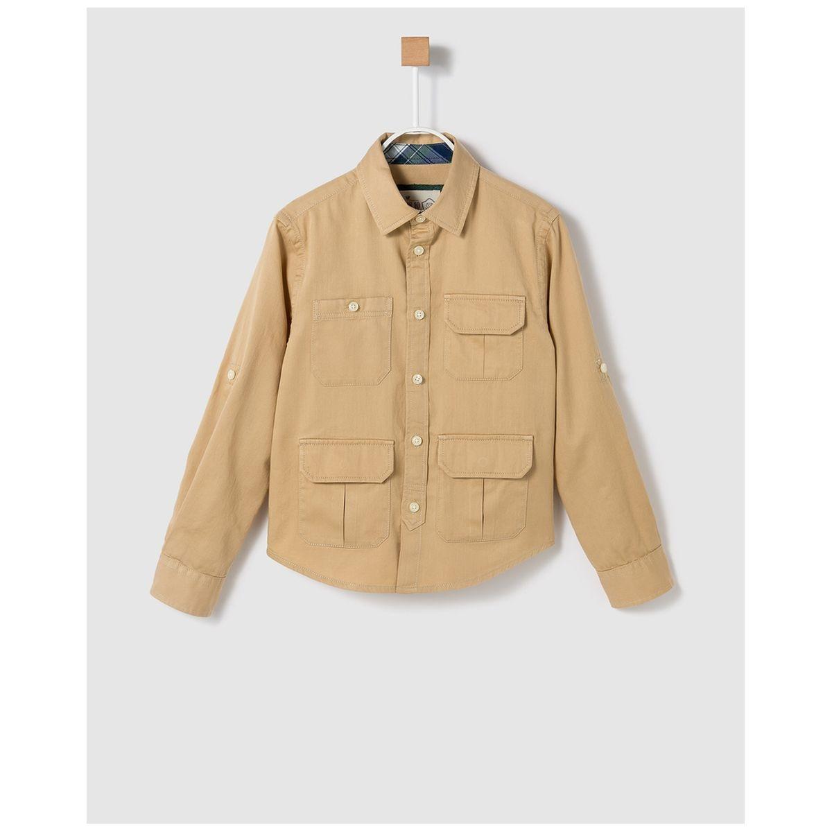 Chemise à poches multiples