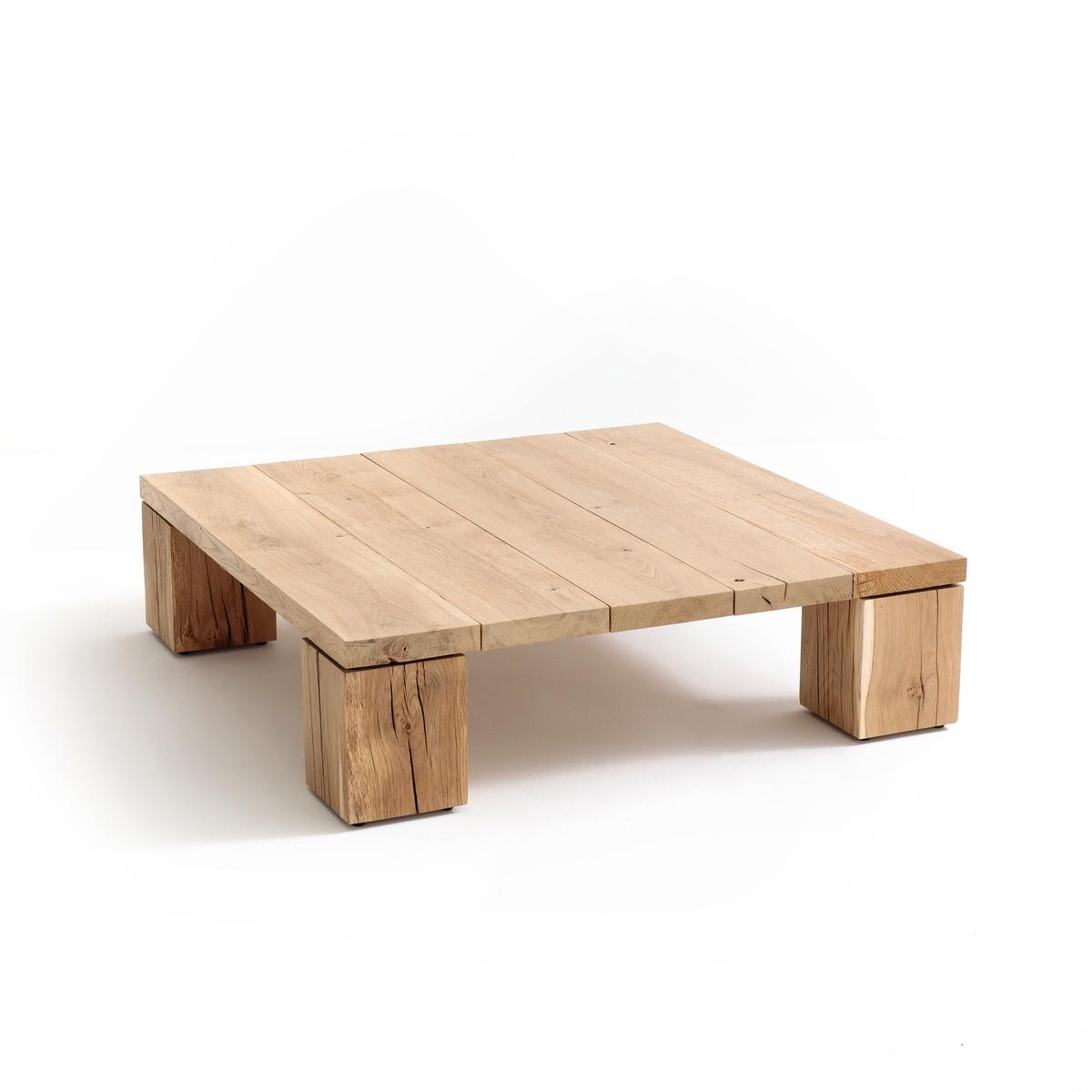 Журнальный столик из массива дуба Merlin столик журнальный квадратный из массива дуба crueso