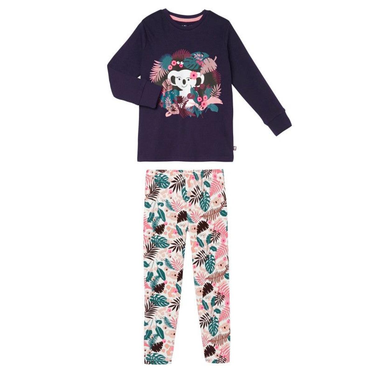 Pyjama fille manches longues Hello Koko