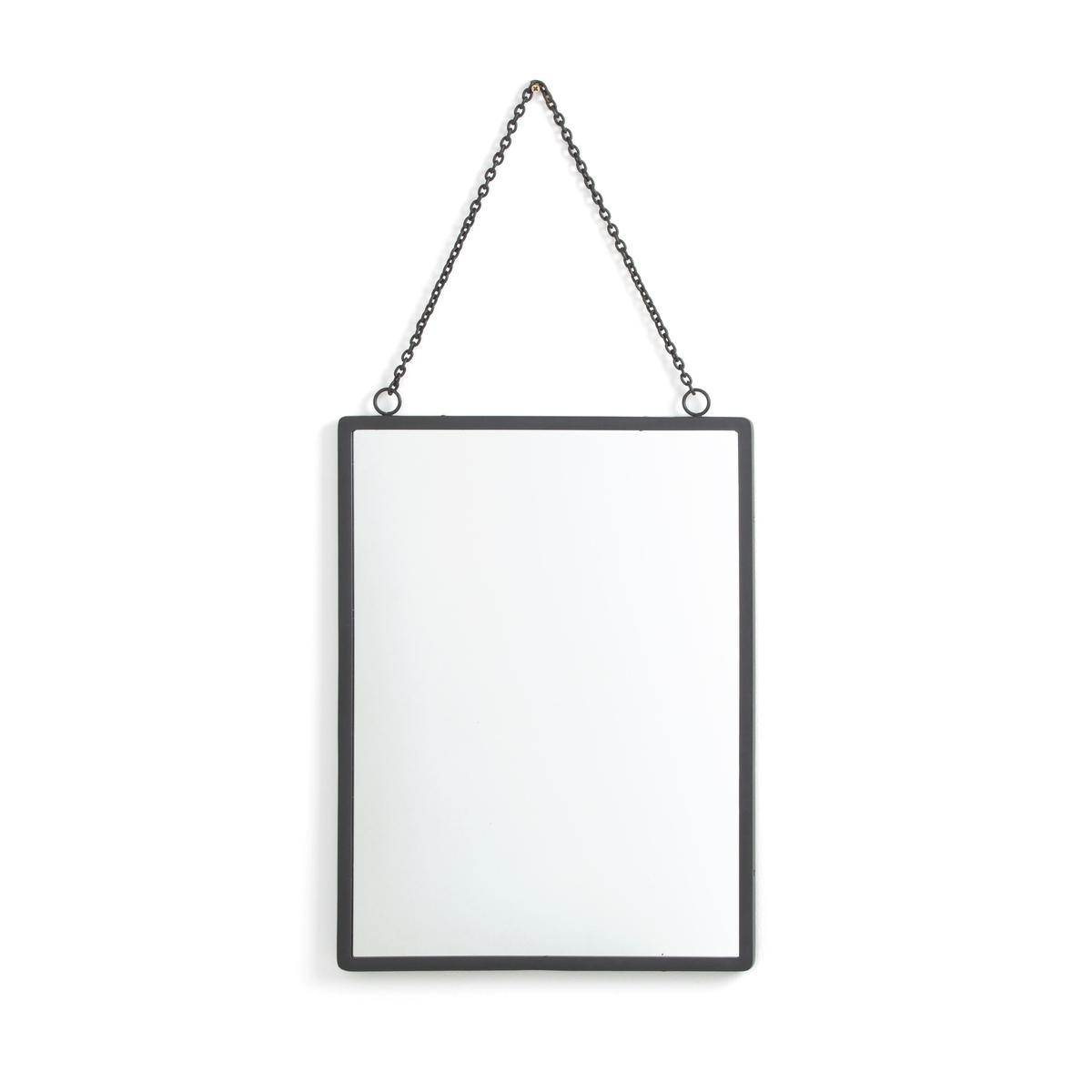 Зеркало La Redoute Прямоугольное большой размер Д x В см Barbier единый размер серый зеркало la redoute д x в см principe единый размер бежевый
