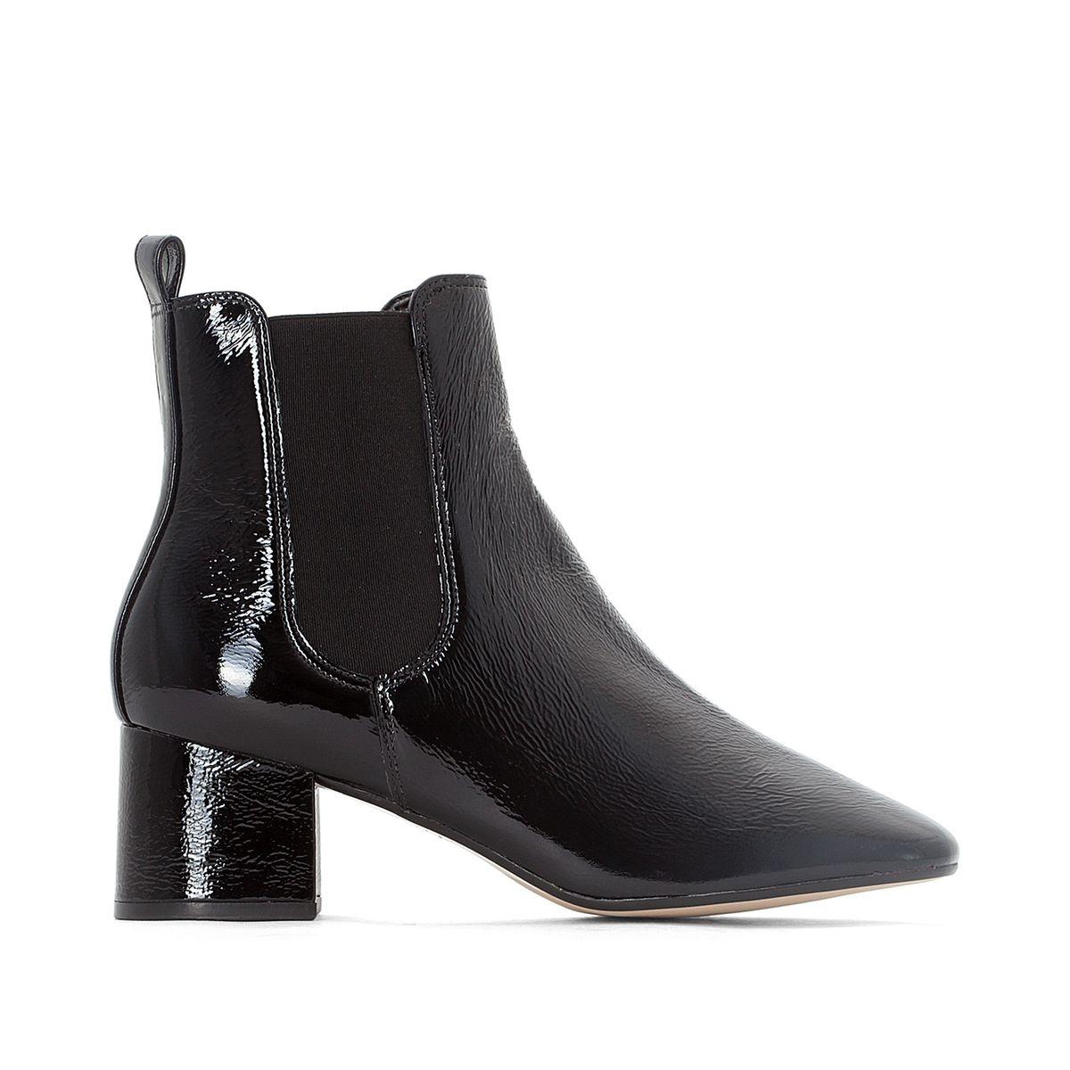 Boots cuir Pecco