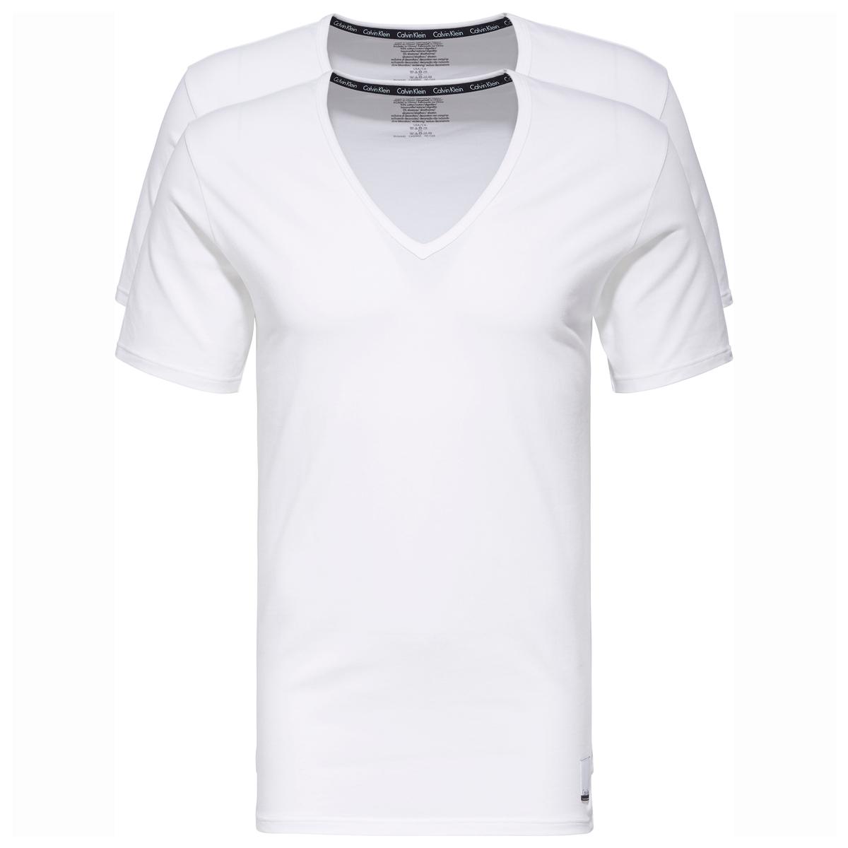 Confezione da 2 T-shirt cotone, maniche corte