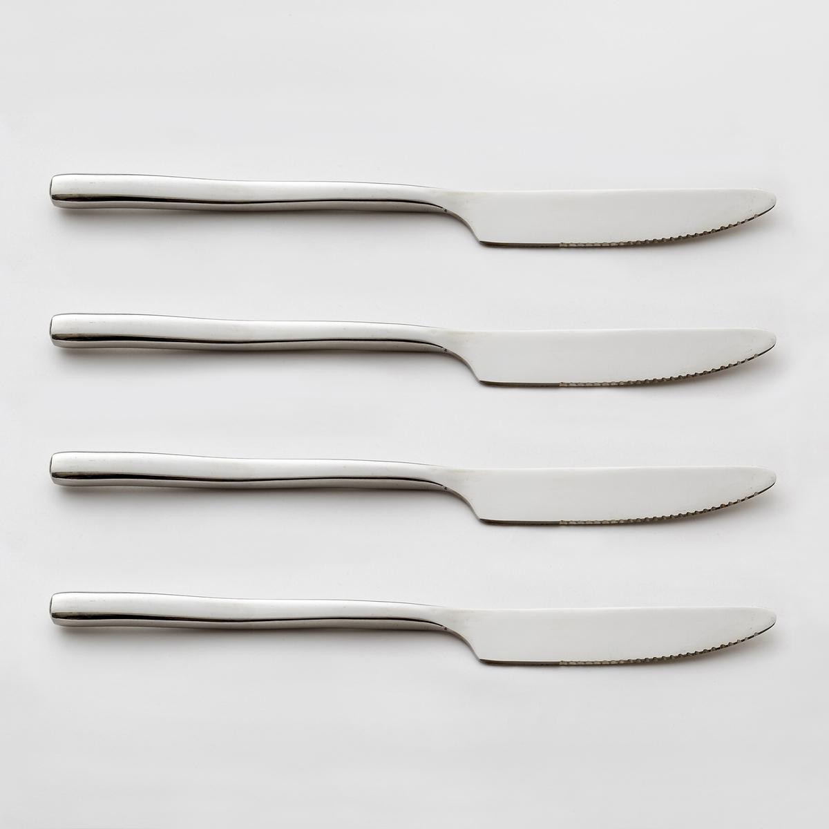 Confezione da 4 coltelli in inox, ANDRINE
