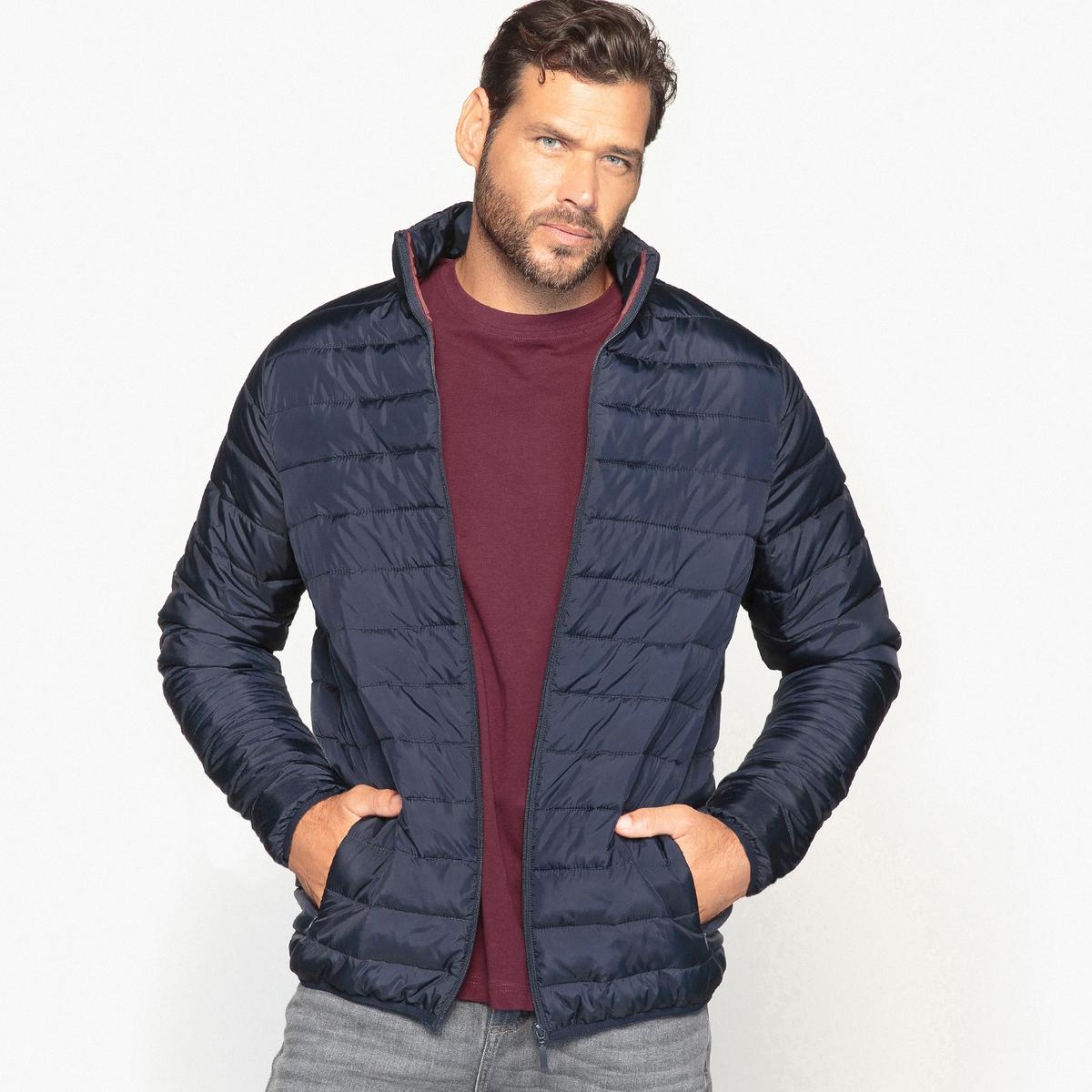 Куртка стёганая тонкая с длинными рукавами