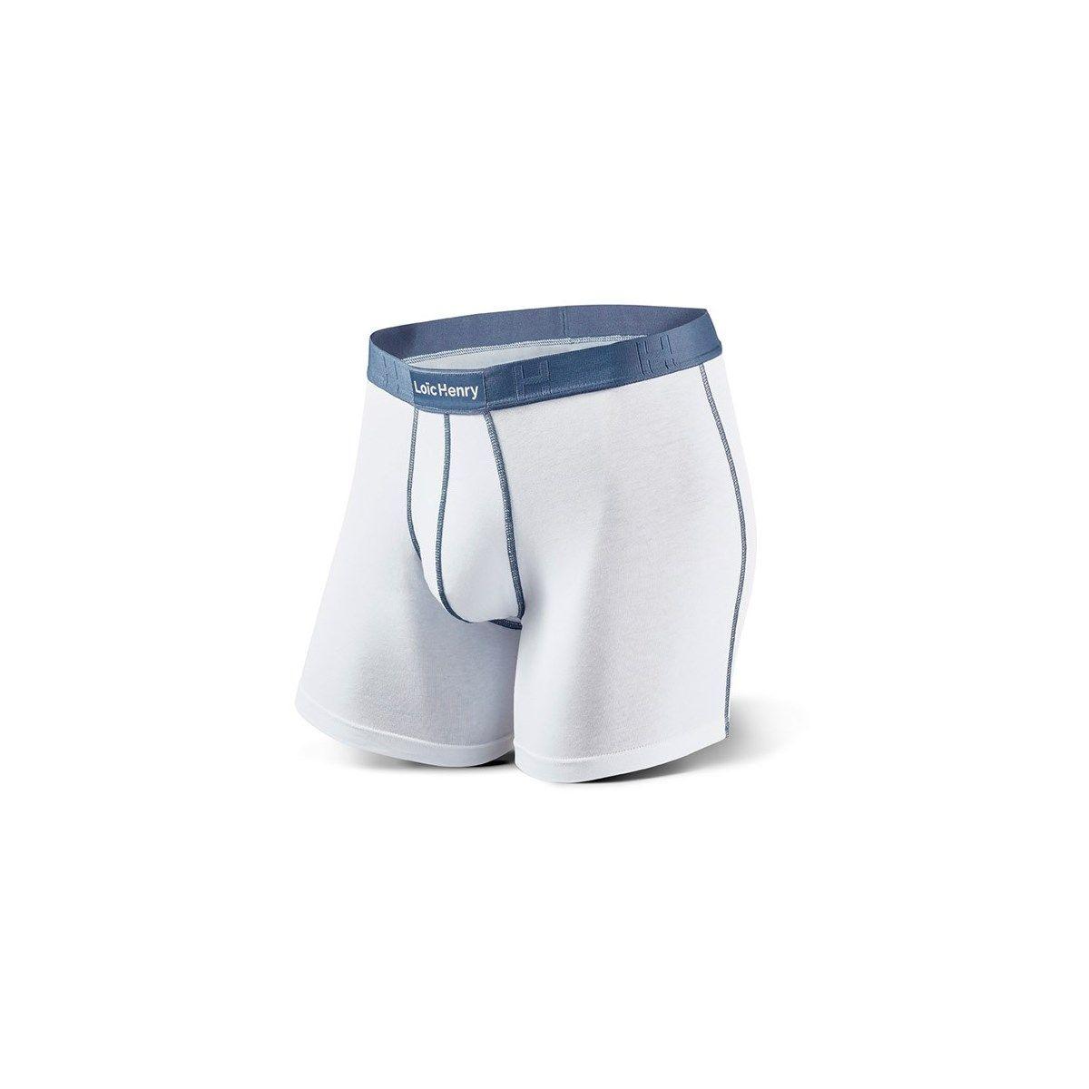 Boxer Every-D Coton Blanc