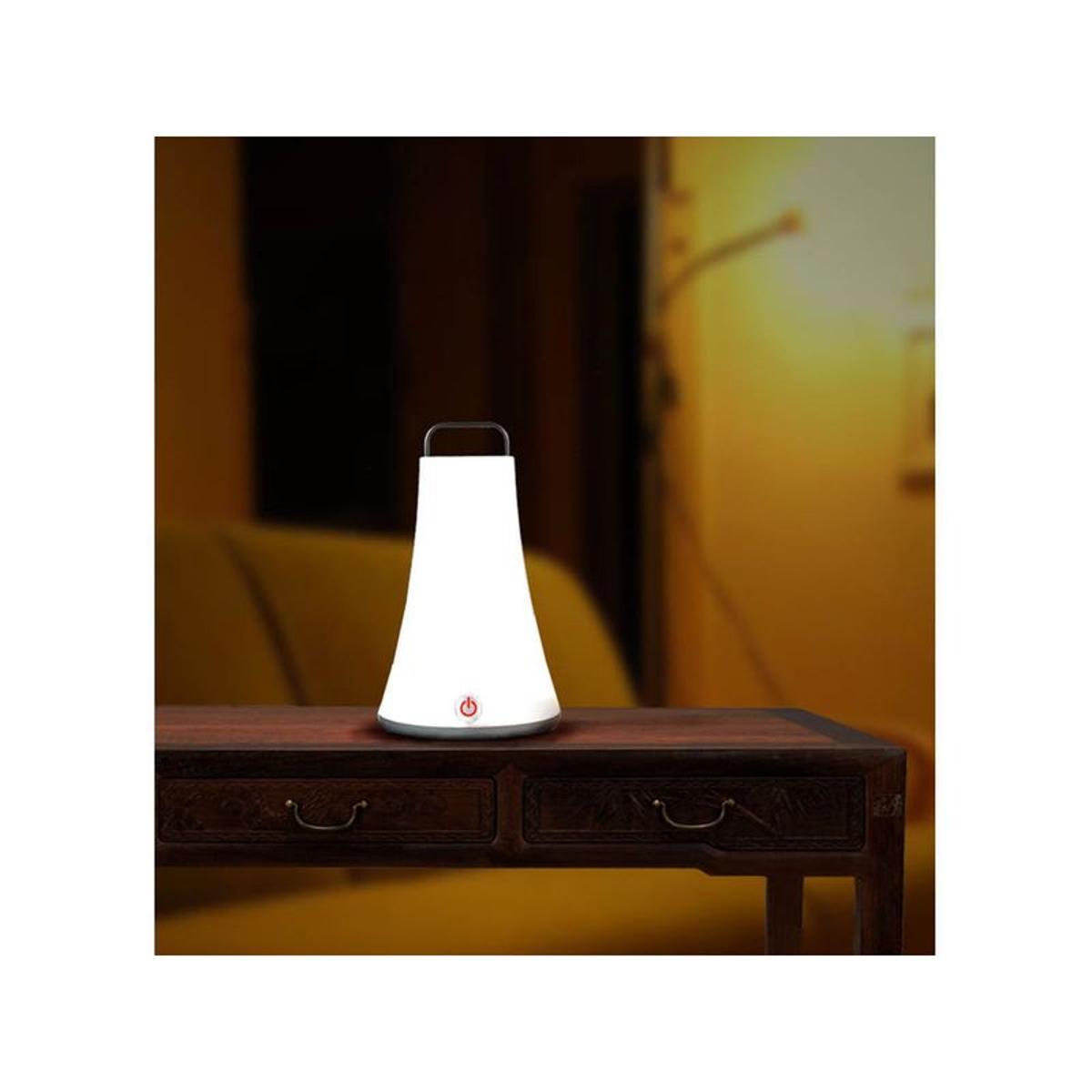 Lanterne lumineuse blanche autonome
