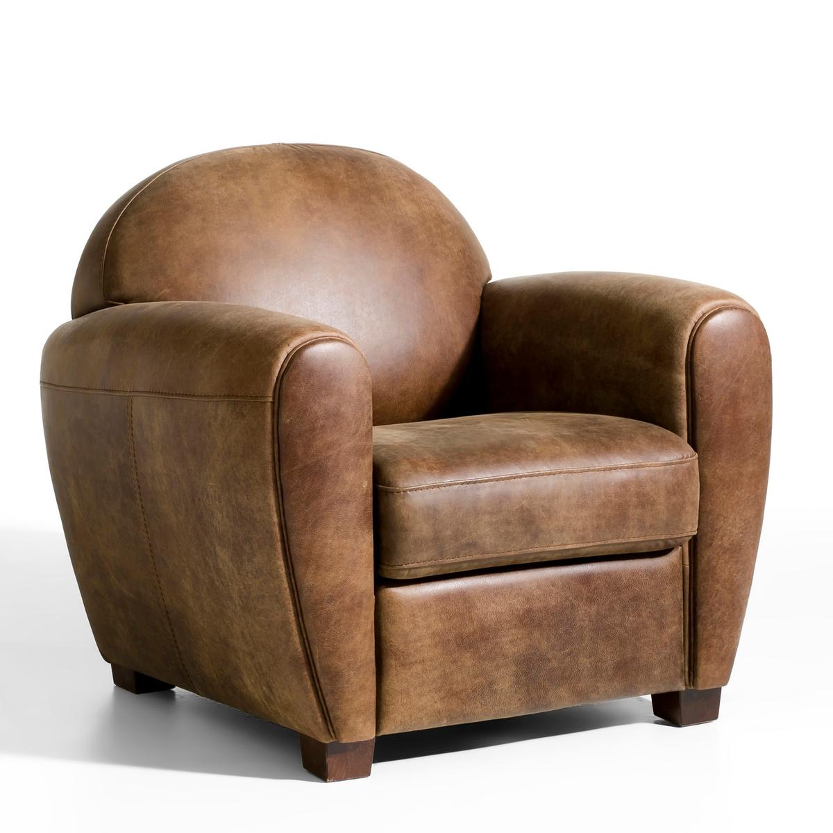Кресло кожаное Barnaby