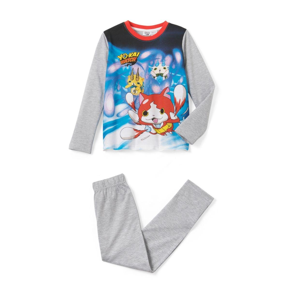 Pyjama imprimé, Yo Kai Watch, manches longues