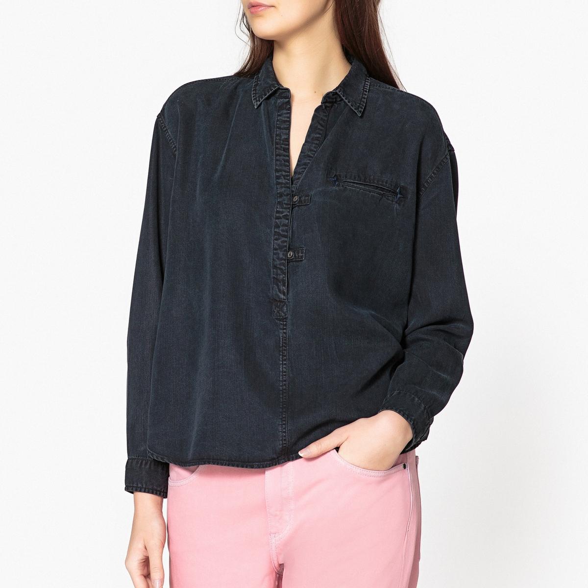 Рубашка с рисунком maison scotch рубашка maison scotch 133 1621 0120131137 03