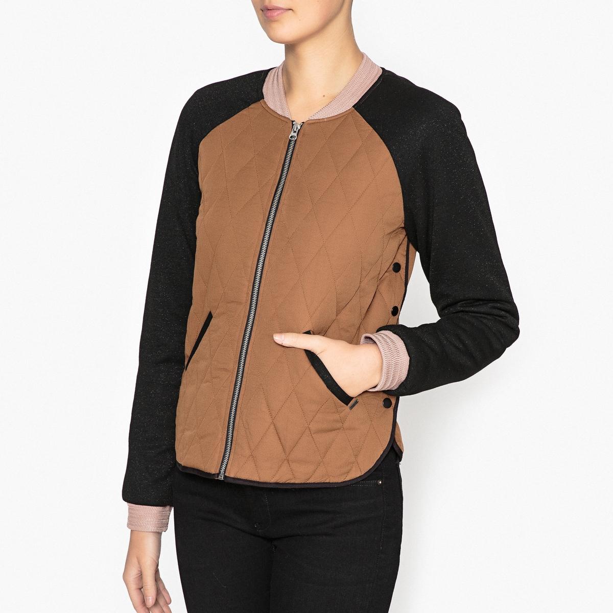 Куртка в стиле бомбера maison scotch футболка с длинными рукавами