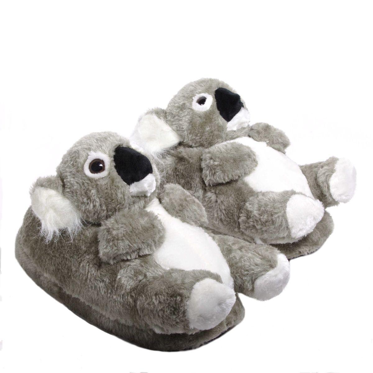 Chaussons animaux peluche Koala
