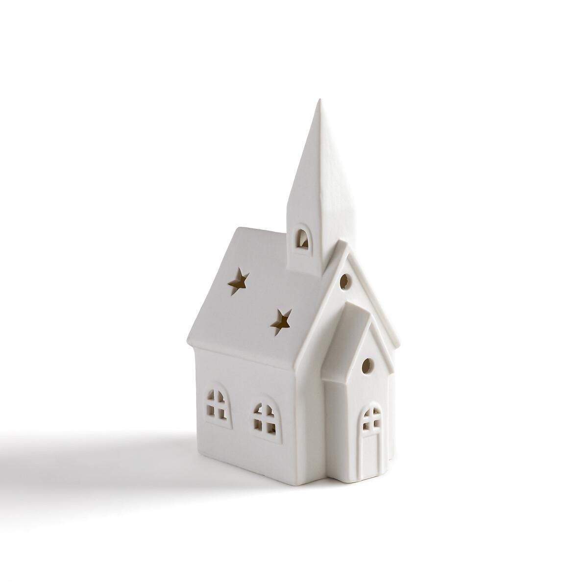 Фото - Подсвечник-церковь LaRedoute Из керамики Caspar единый размер белый caspar lee caspar lee