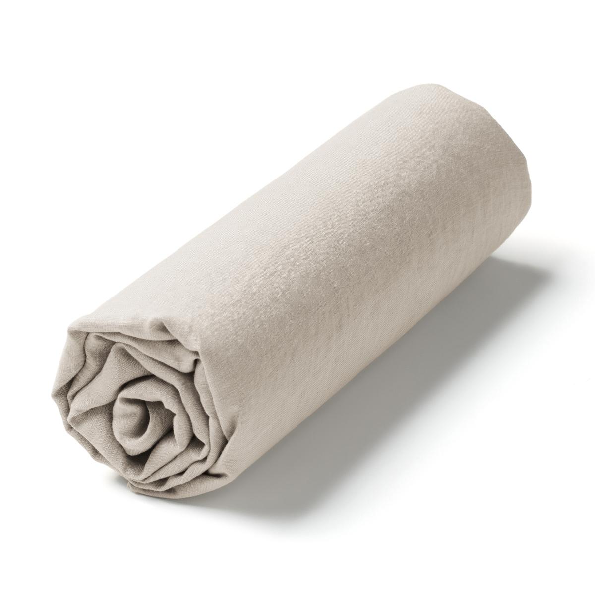 Простыня натяжная из стираного льна, ElinaНатяжная простыня Elina. Специально созданная для матрасов толщиной до 10 см, натяжная простыня придаст комфорта и элегантности вашей кровати.Стираный лен. Ткань с легким жатым эффектом не требует глажки, со временем становится более мягкой и нежной.Материал : - 100% стираный ленОтделка :- Клапан 10 смУход :- Машинная стирка при 40 °С.Размеры :90 x 190 см : 1-сп.140 x 190 см : 2-сп.160 x 200 см : 2-сп.180 x 200 см : 2-сп.Знак Oeko-Tex® гарантирует, что товары прошли проверку и были изготовлены без применения вредных для здоровья человека веществ.<br><br>Цвет: серо-бежевый,серо-синий,серый