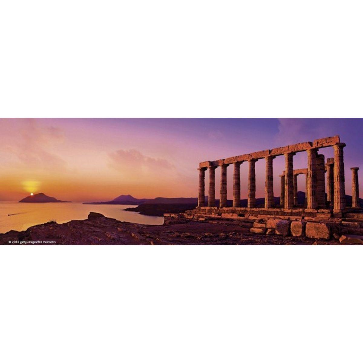 Puzzle 75 pièces panoramique Edition Alexander Humboldt : Temple Poséïdon