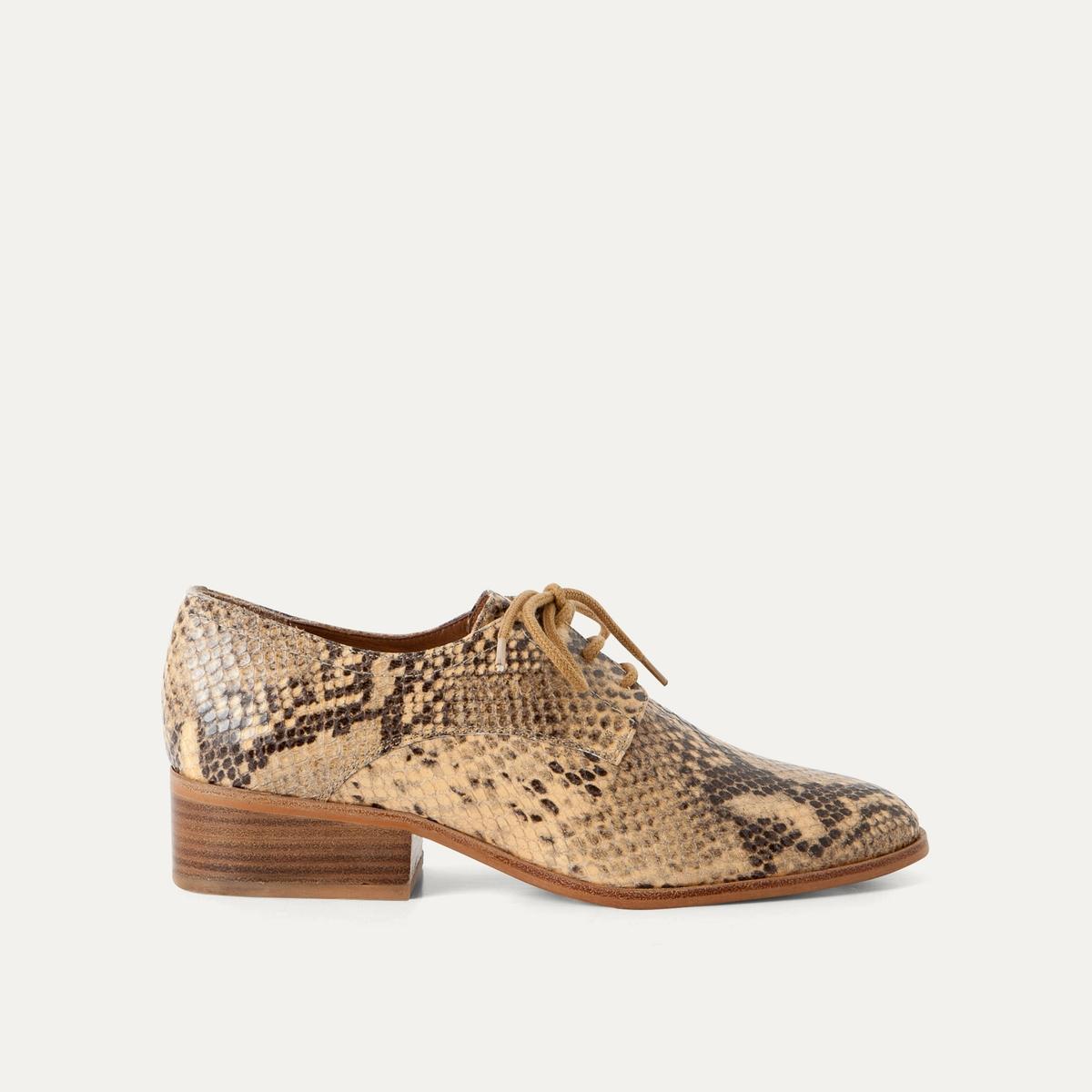 Ботинки-дерби кожаные от La Redoute