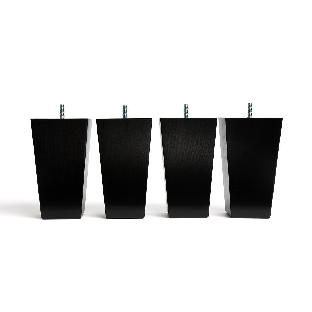 Ножки La Redoute Для кровати Trapecio 15 см черный, размер 15 см купить во Vseblaga.ru