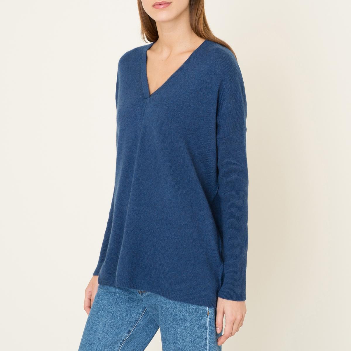 Пуловер FRED, 100% кашемирСостав и описание :               Материал : 100% кашемир                Марка : LA BRAND BOUTIQUE<br><br>Цвет: синий