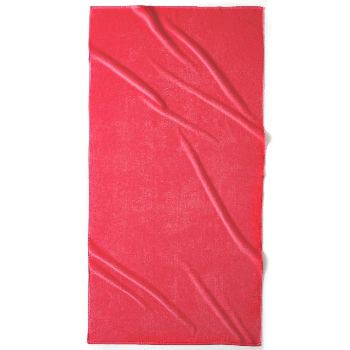 Полотенце пляжное ESTORILПляжное полотенце из 100% хлопка, 420 г/м?. 1 сторона из велюра, 1 сторона из махровой ткани. Размер полотенца: 90 x 175 см. Стирка при 40°.<br><br>Цвет: гренадин,зеленый анис,фиолетовый<br>Размер: единый размер.единый размер.единый размер