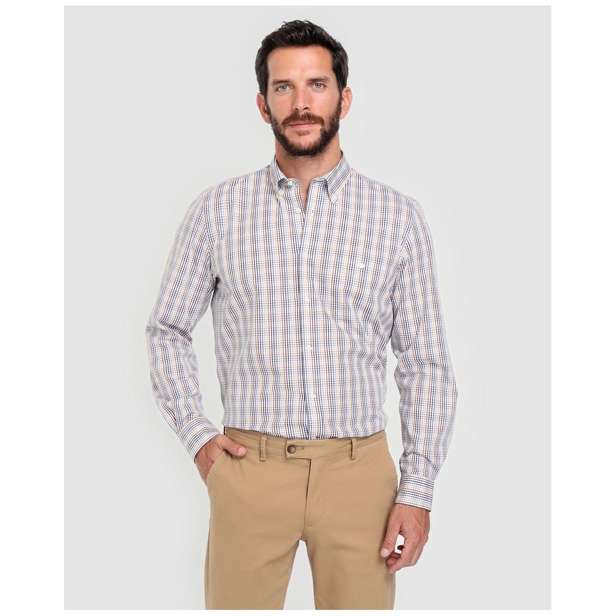 Chemise classic  à carreaux