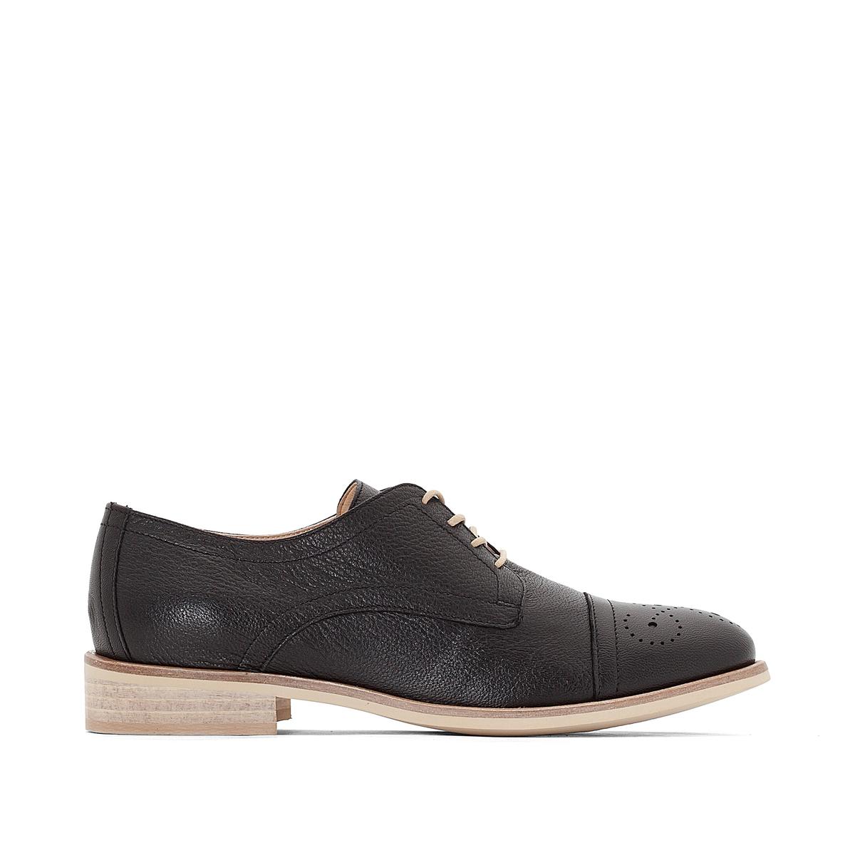 Ботинки-дерби кожаные Marette ботинки дерби кожаные с пряжками