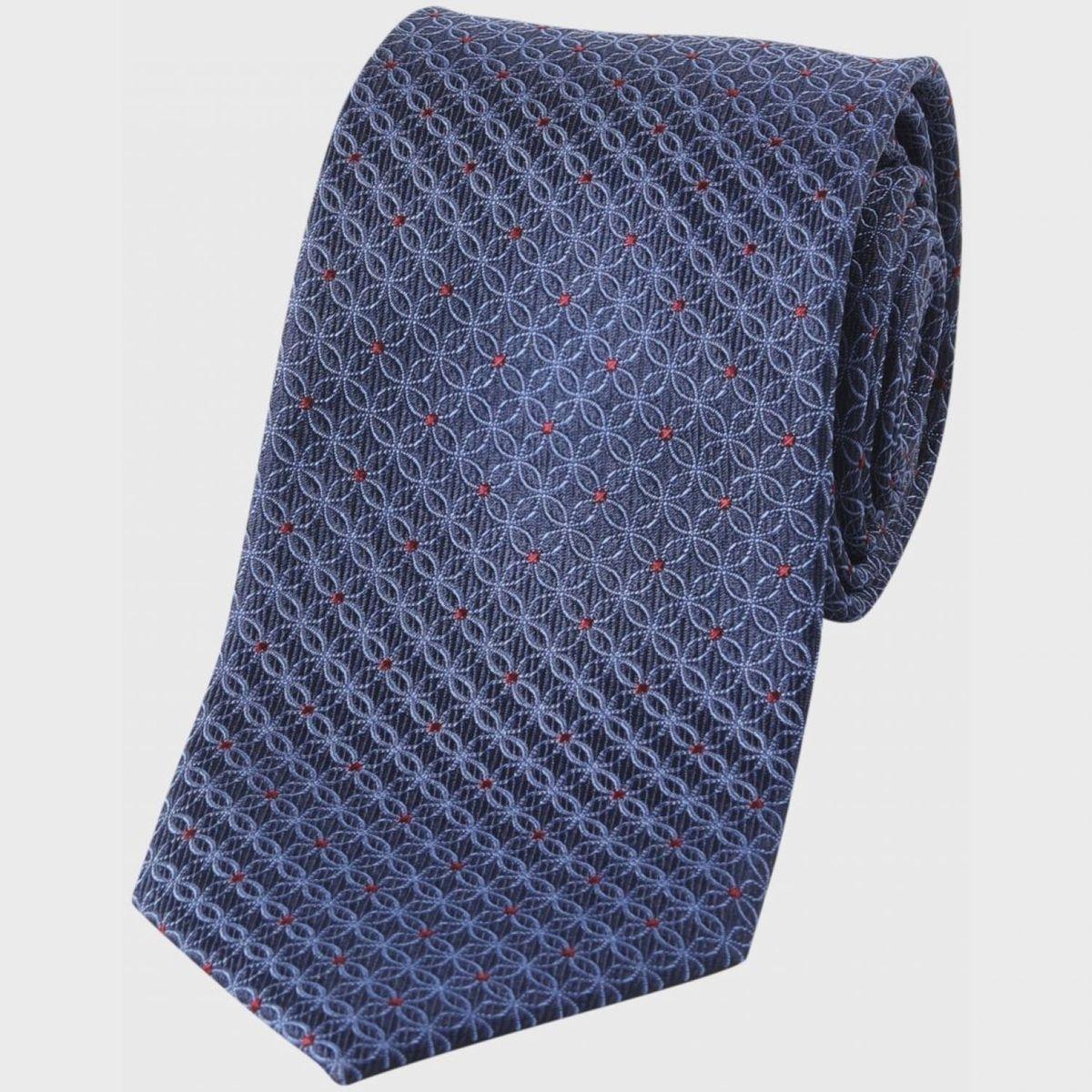 Cravate   motif géométrique