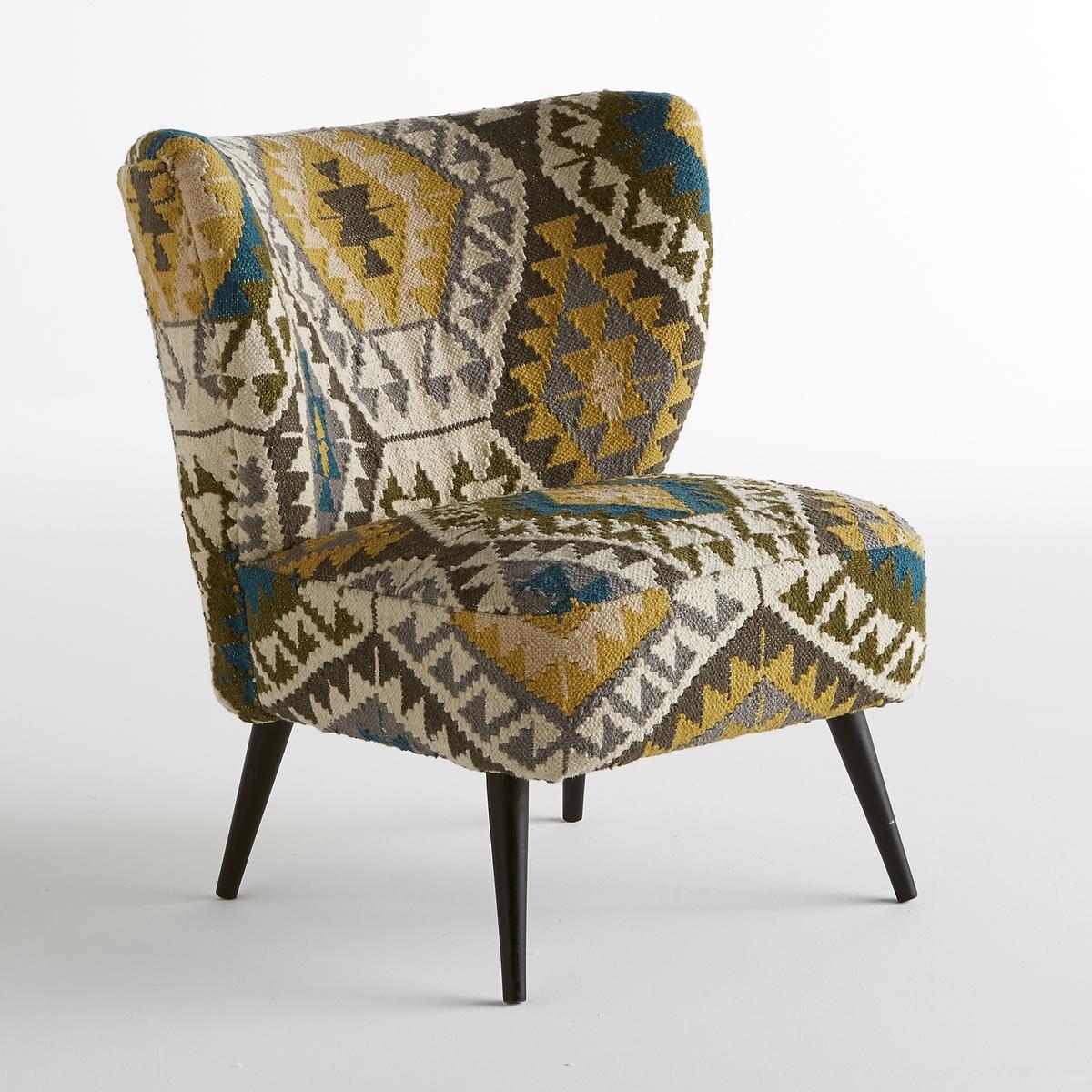 Кресло Franck с тканым рисунком