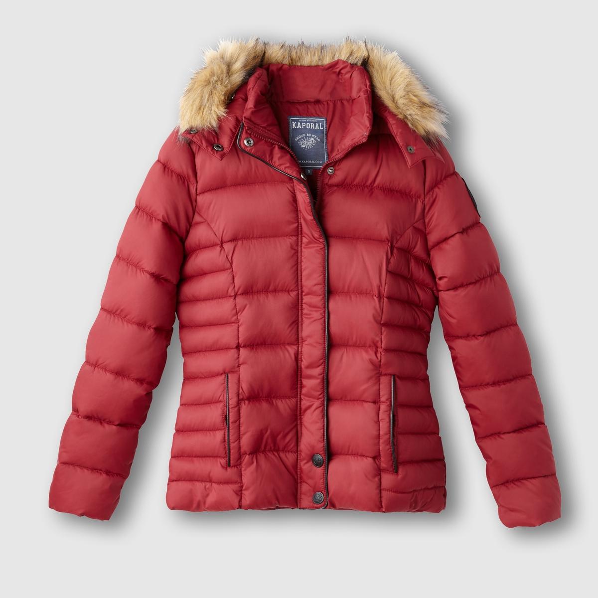 Куртка стёганая с капюшоном MINKO
