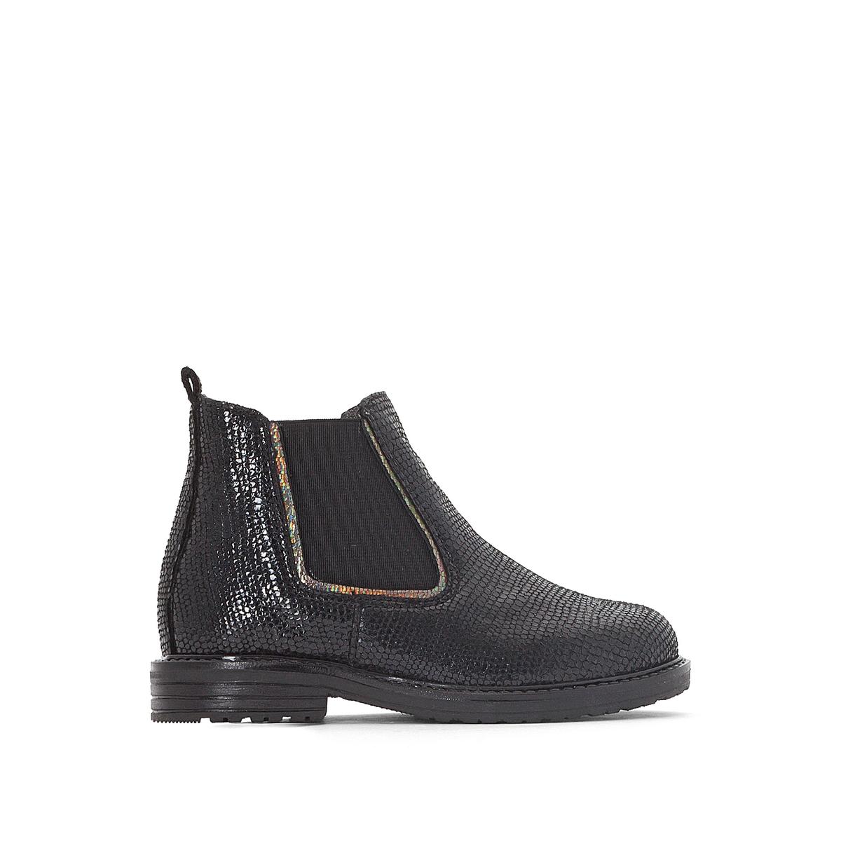 Ботинки-челси кожаные Salouna