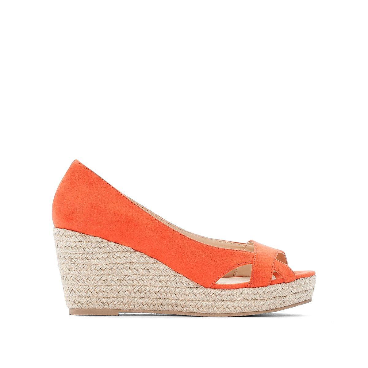 Sandales compensés, pied large 38-45