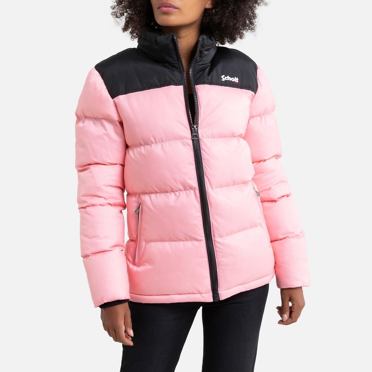 Куртка La Redoute Стеганая Utah L розовый la redoute la redoute l розовый