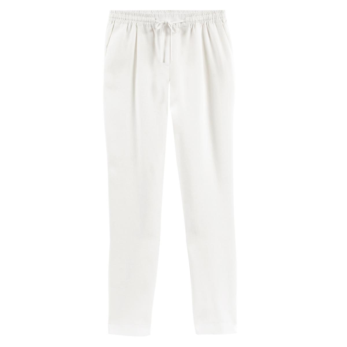 Pantalón slim vaporoso de Lyocell