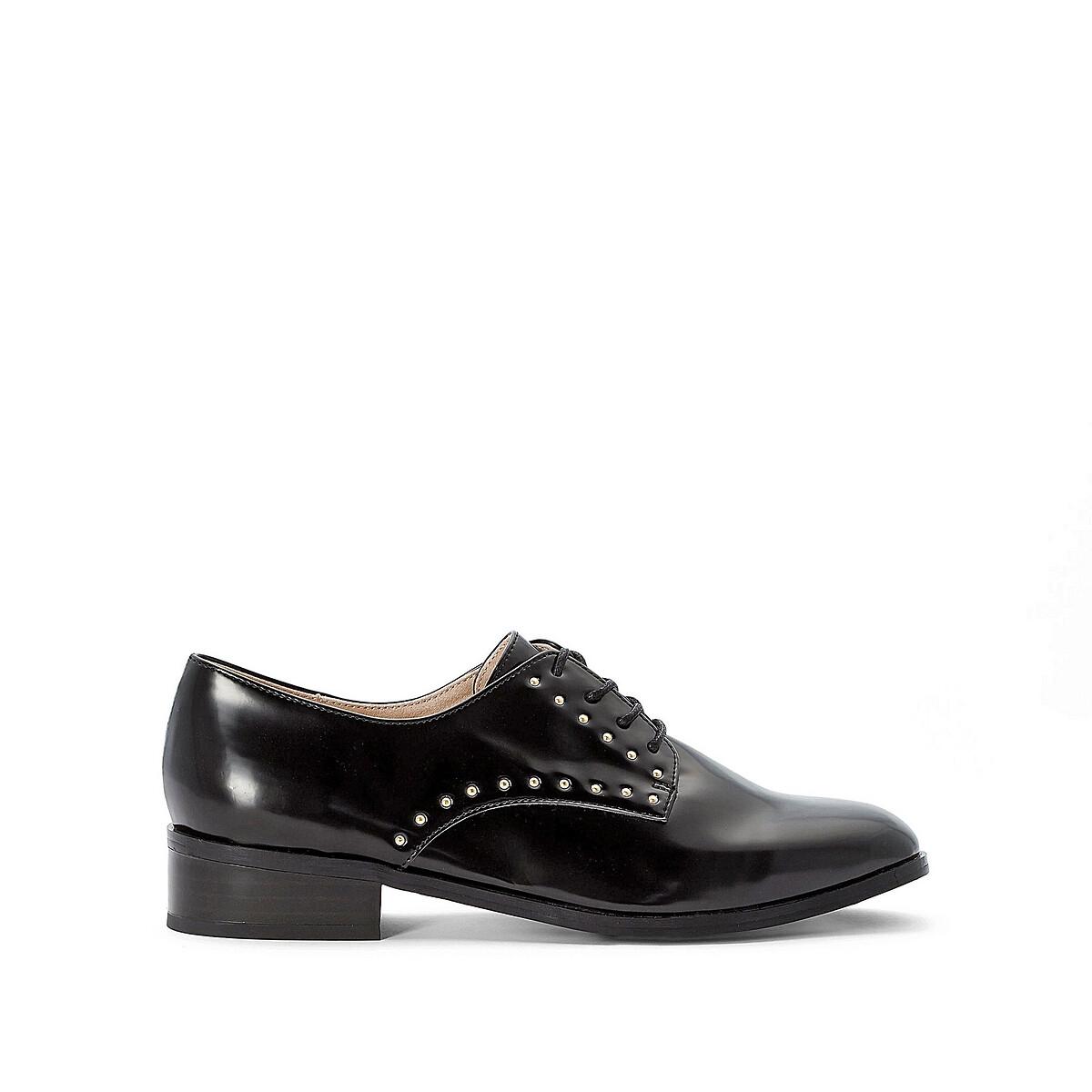 Ботинки-дерби La Redoute 36 черный
